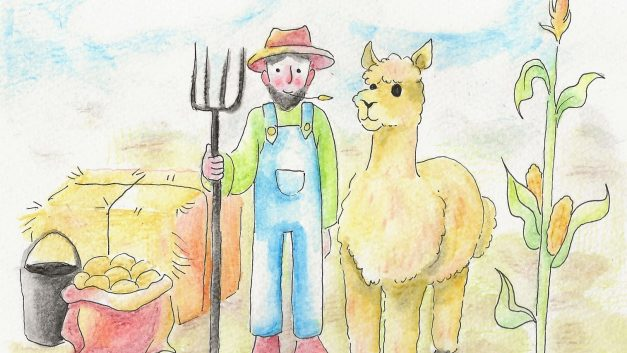He's a Llama Farmer, Don't Cha Know (Roughly to the Rhythm of 'The Dreaming' by Kate Bush)