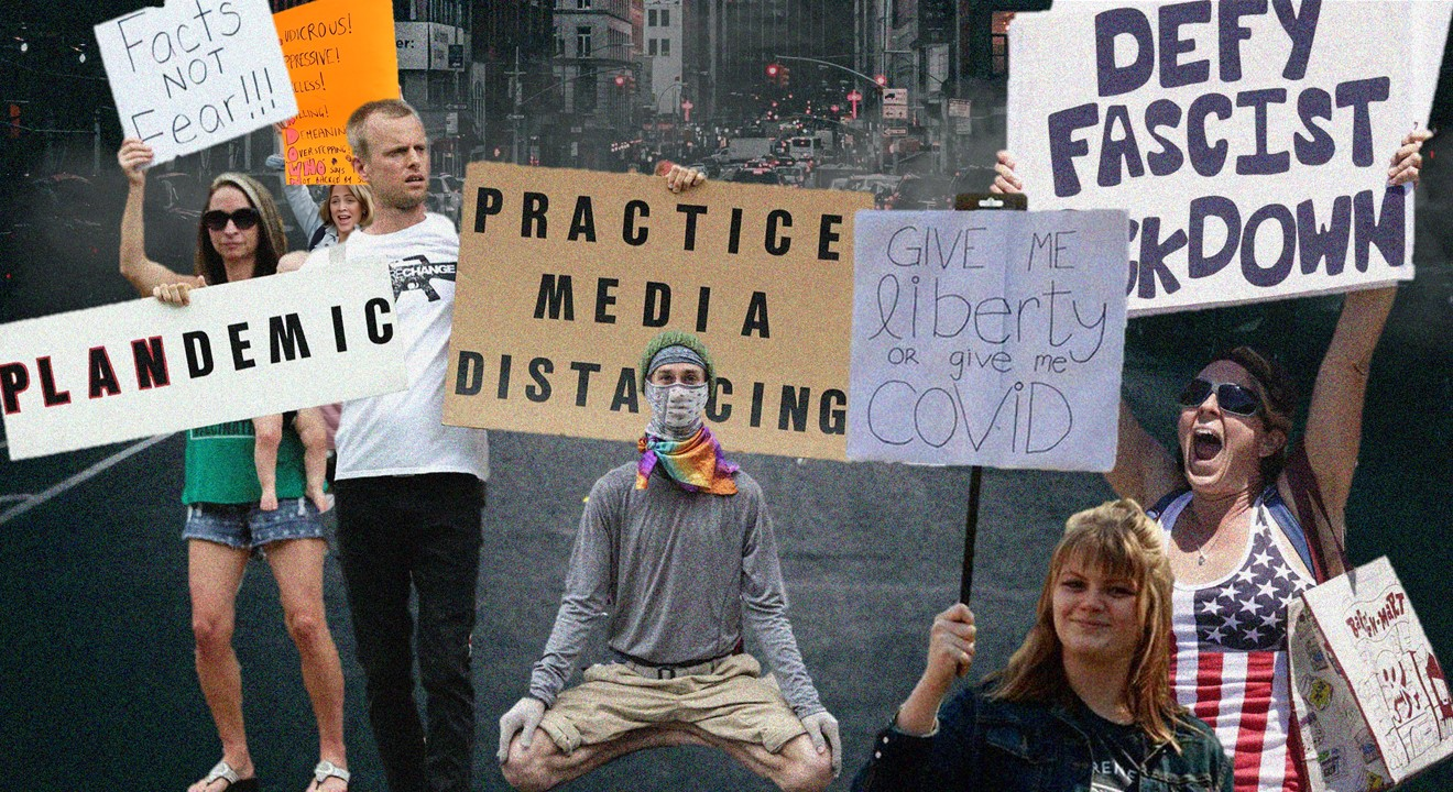 Stopping 'The New Normal': Anti-Lockdown Protestors Rise Against The Establishment