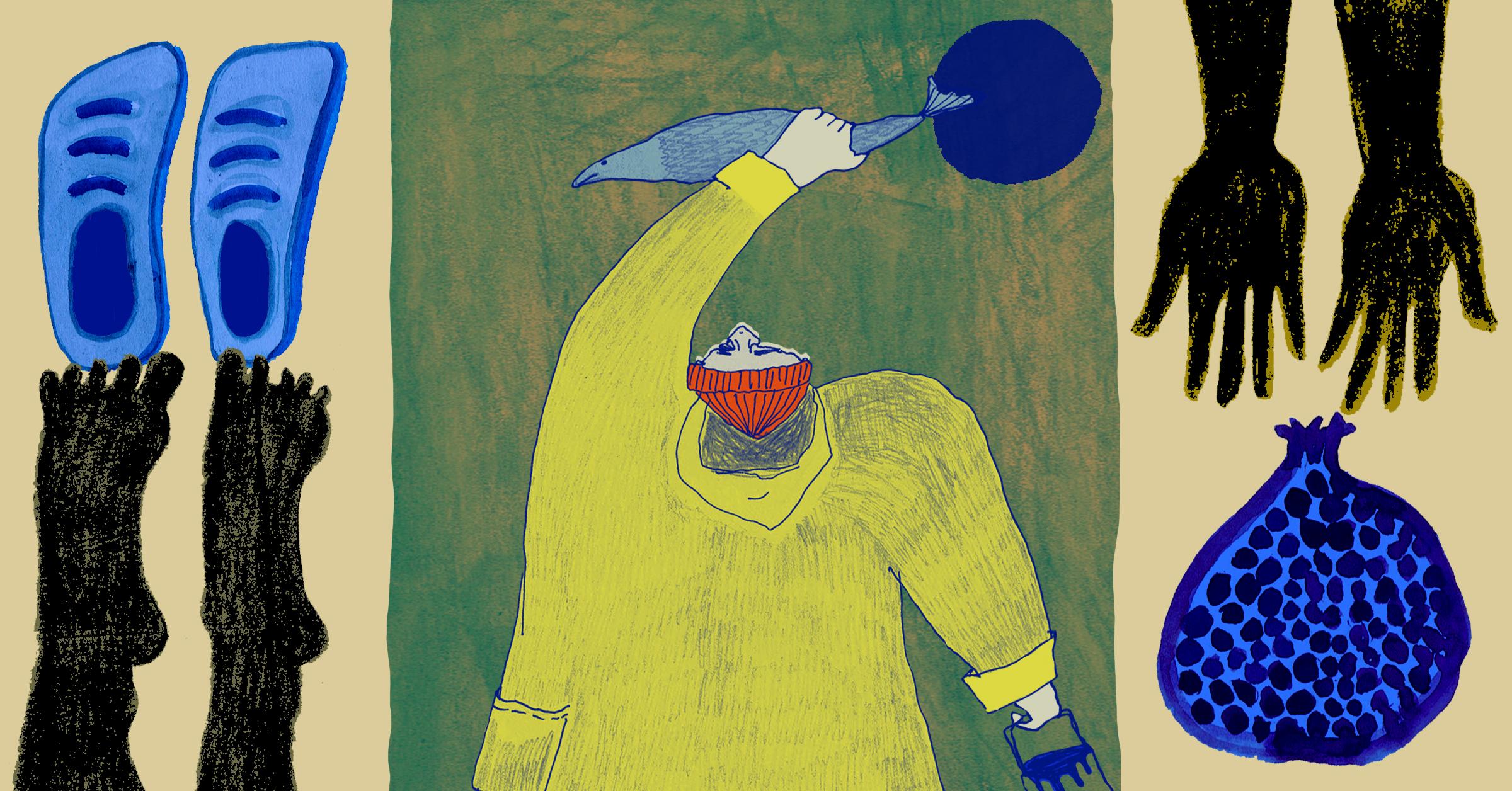 A Poem By Brett Mottram: Fresh Fruit Without The Fishmonger