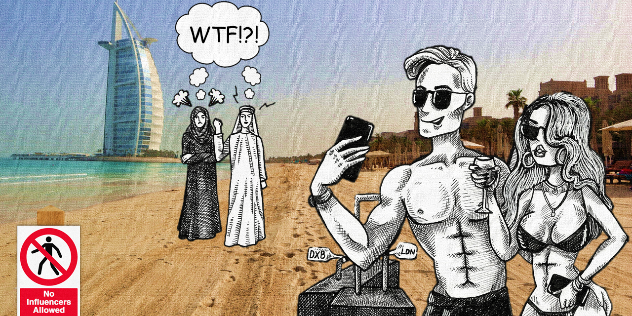 Is the Sand Whiter in Dubai? Influencers Marooned as Lockdown Measures Increase