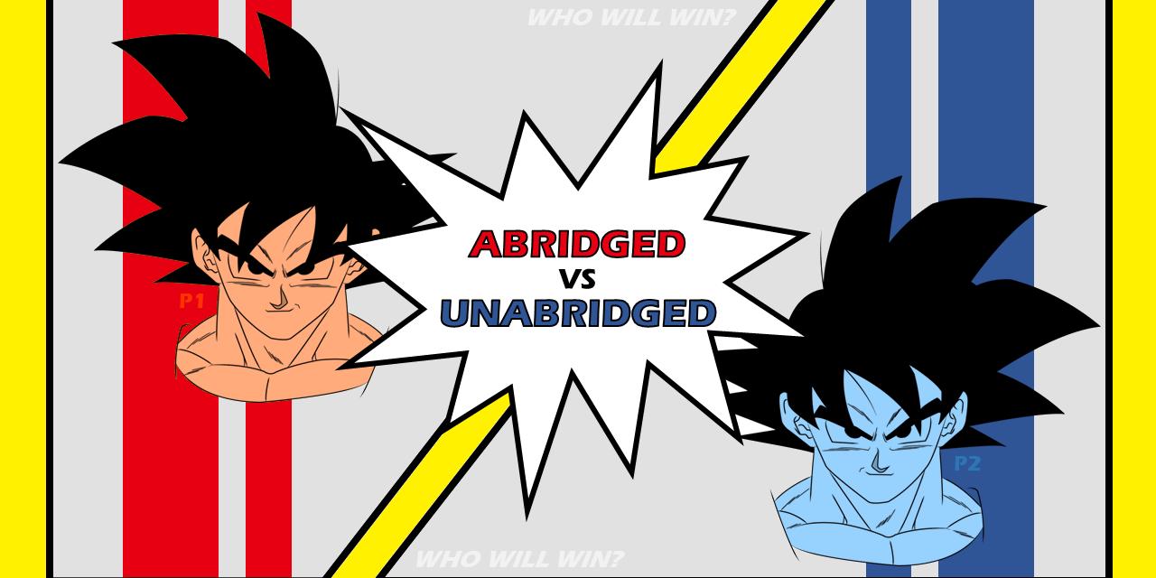 Abridged Anime   How To Turn A Bad Anime Into A Good One