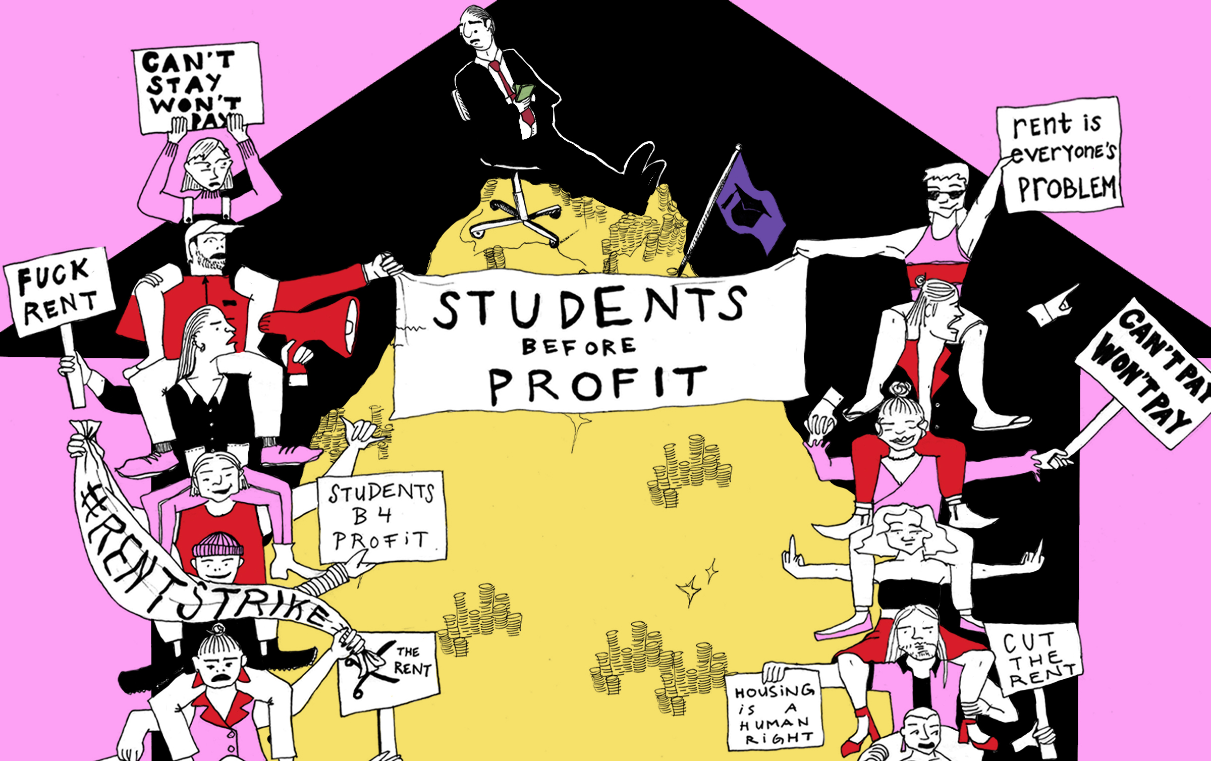 Have Students Been Pushed Too Far? | The Story of Rent-Strikes in the Year of the Pandemic and Beyond