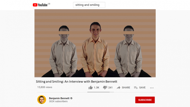 Meeting the Man Behind the Smile: An Interview with Benjamin Bennett