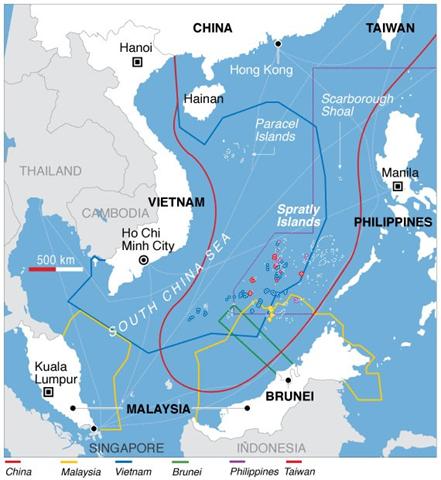 China's South China Sea Claims