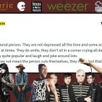 It's Not a Phase, Mom: The Impact of Emo Music